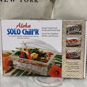 Aloha Solo Chiller Serving Container